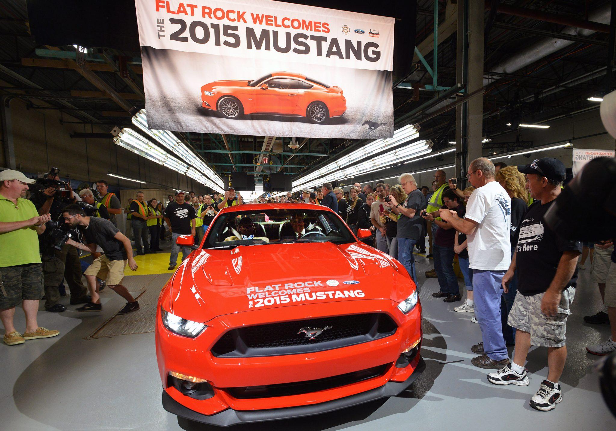 Noticias: Inicia producción del Ford Mustang 2015