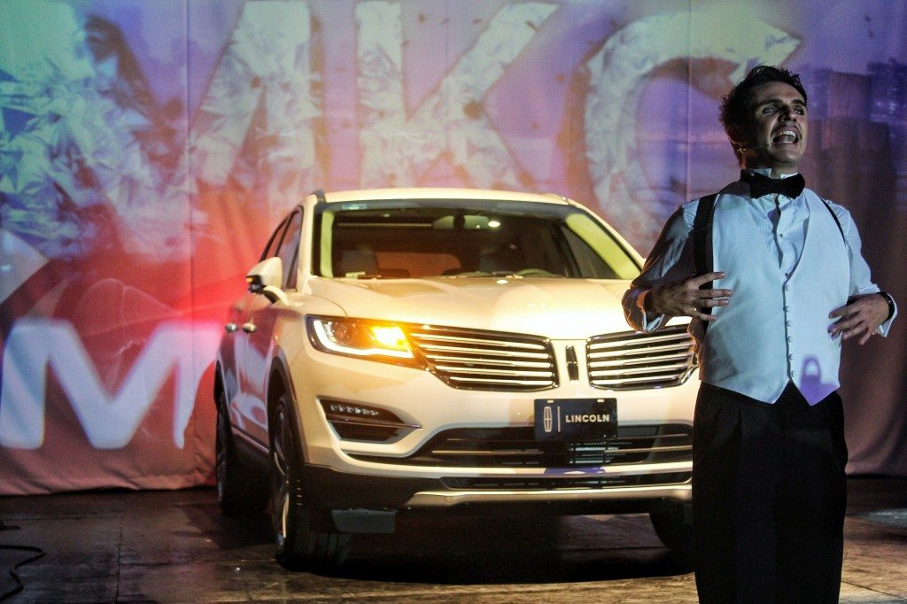 Presentación del Lincoln MKC en México