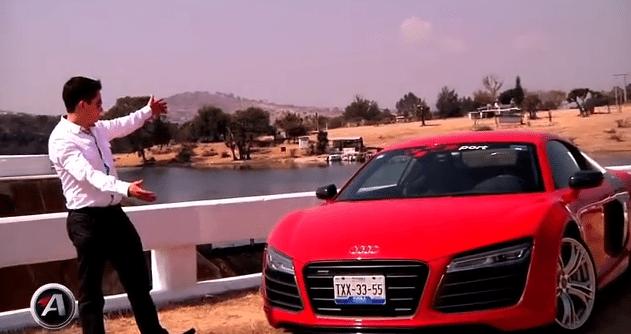 Video: Audi R8 V10 Plus