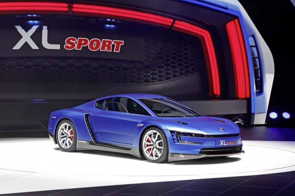 Mondial de lAutomobile 2014 in Paris Volkswagen Pressekonferenz am 2 Oktober 2014