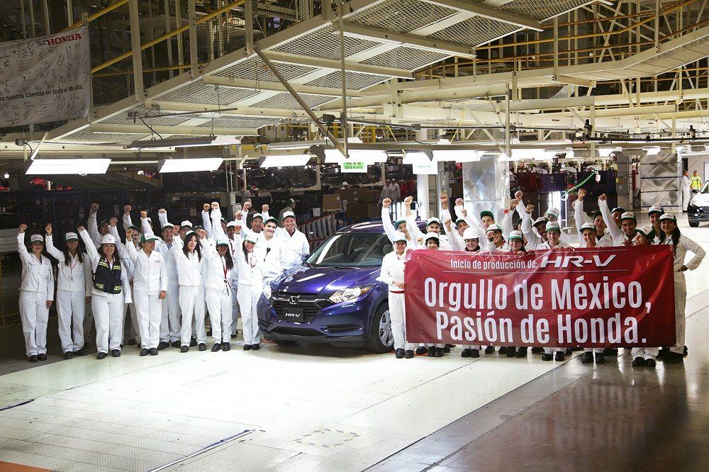 Honda inicia la producción de HR-V en Celaya Guanajuato