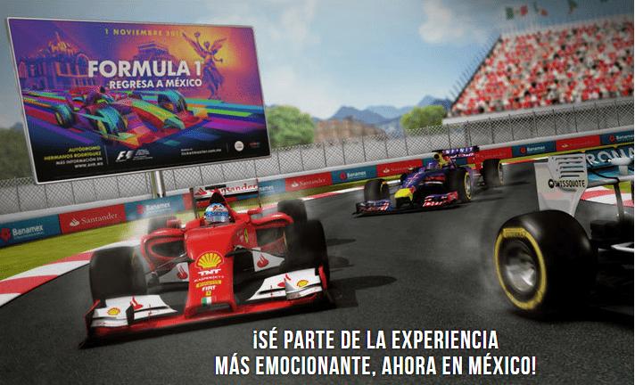 ¡Es oficial! Estos son los precios y las fechas de venta de los boletos del Gran Premio de México 2015