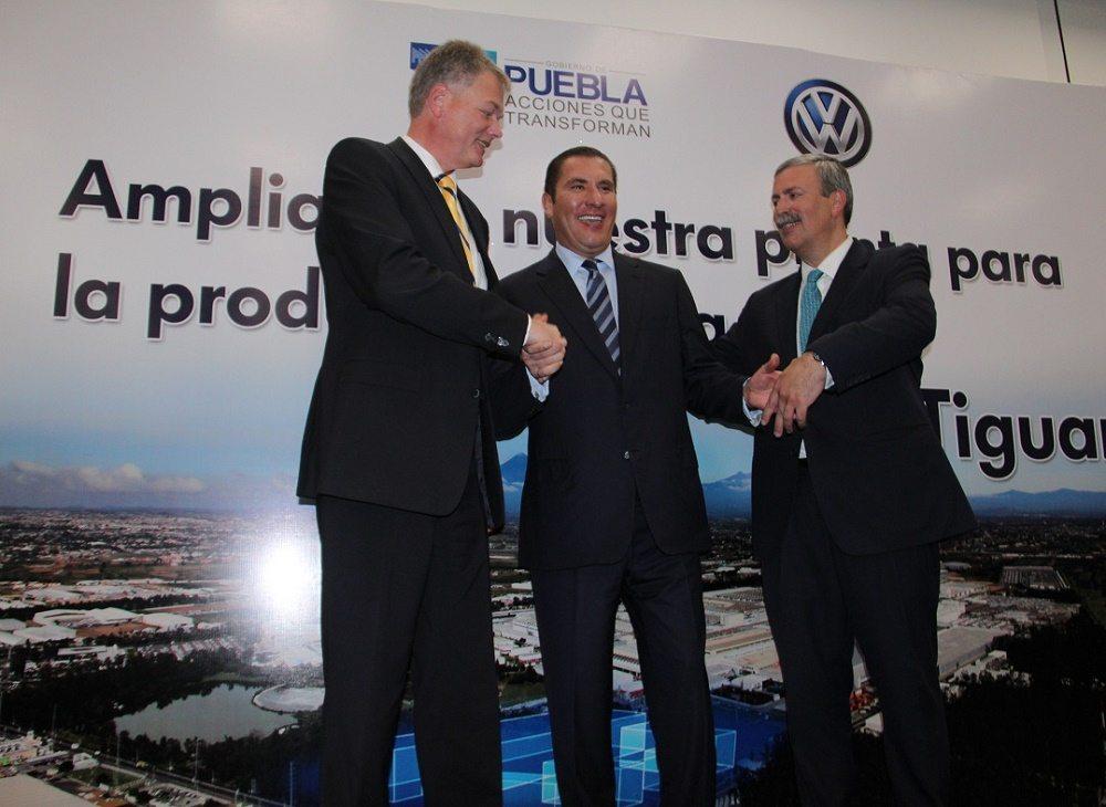 La nueva Volkswagen Tiguan se fabricará en la planta de Puebla