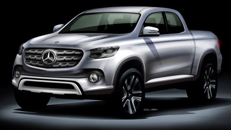 Se confirma la producción de una pick up de Mercedes Benz y otra de Renault, ambas en conjunto con Nissan