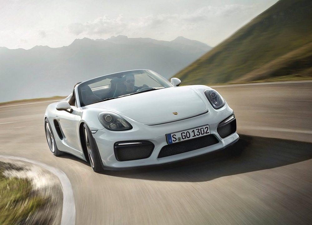 Porsche Boxster Spyder aparece en el Auto Show de Nueva York