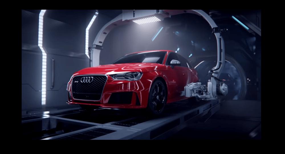 Así nace un Audi RS3 a partir de un R8 ¡Gran video!