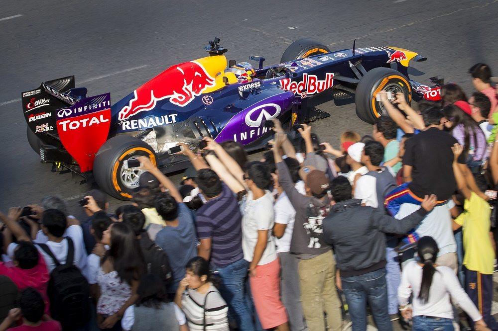 Un auto de Fórmula 1 rodará en el zócalo de la Ciudad de México