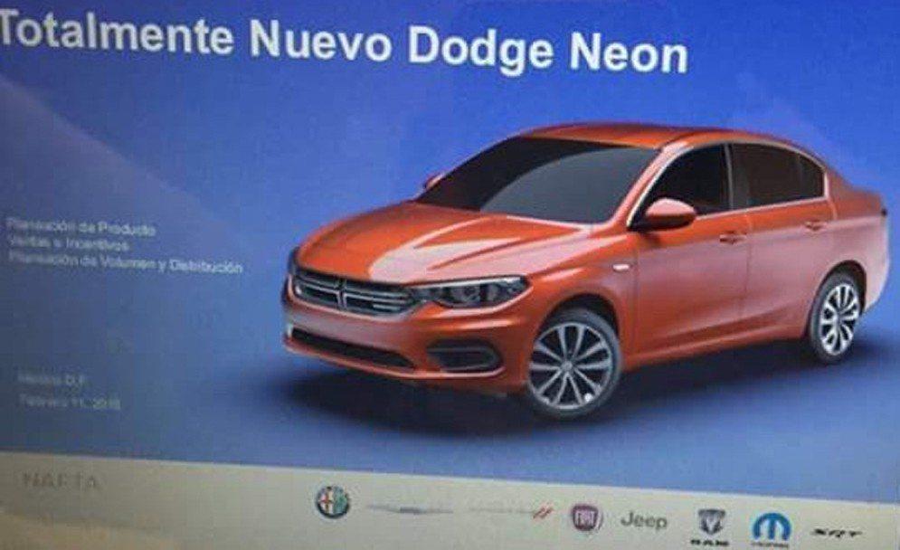 El Dodge Neon vuelve a México