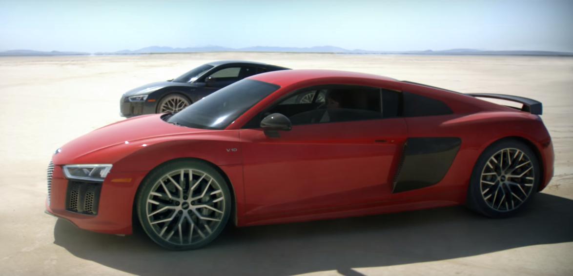 ¿Qué hacen dos Audi R8 en el Valle de la Muerte? Este excelente comercial lo explica todo