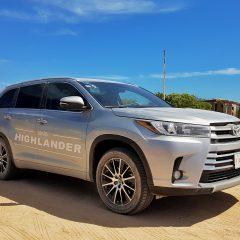 Toyota Highlander 2017, la manejamos en una interesante ruta por Baja California Sur