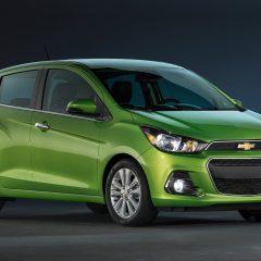 El Chevrolet Spark 2017 ahora está disponible en México con transmisión CVT