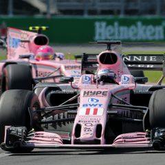 El podio de Checo Pérez que fue frustrado en el Gran Premio de Baku