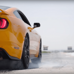 ¡A quemar llanta! Todos los Ford Mustang 2018 contarán con el sistema Line Lock