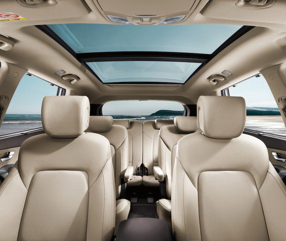New Hyundai Santa Fe 2018 Interior: Hyundai Santa Fe 2018 Llega A México Con Tres Filas De