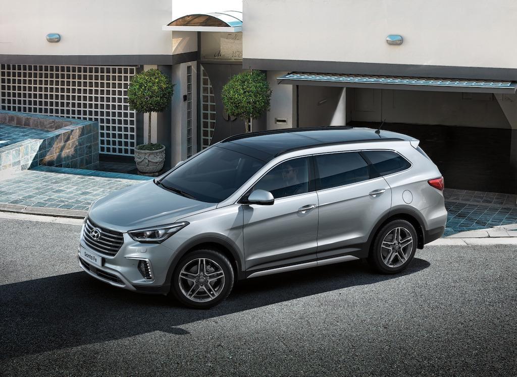 Hyundai Santa Fe 2018 llega a México con tres filas de ...