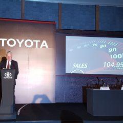 Toyota suma 26 exitosos meses de ventas récord en México