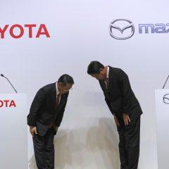 Mazda y Toyota se alían y construirán una nueva fabrica en Estados Unidos