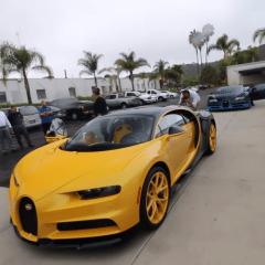"""Este es el video del """"unboxing"""" del primer Bugatti Chiron en Estados Unidos"""