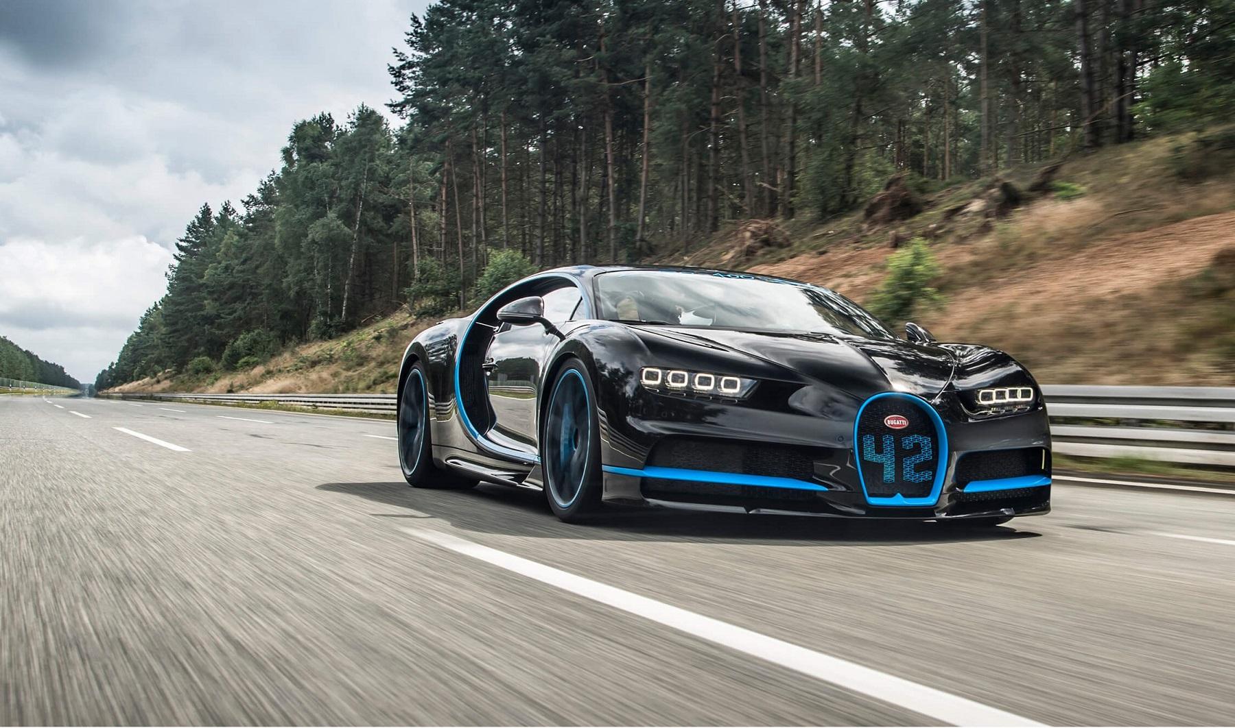 Bugatti Chiron y el video de su increíble récord 0 – 400 ...