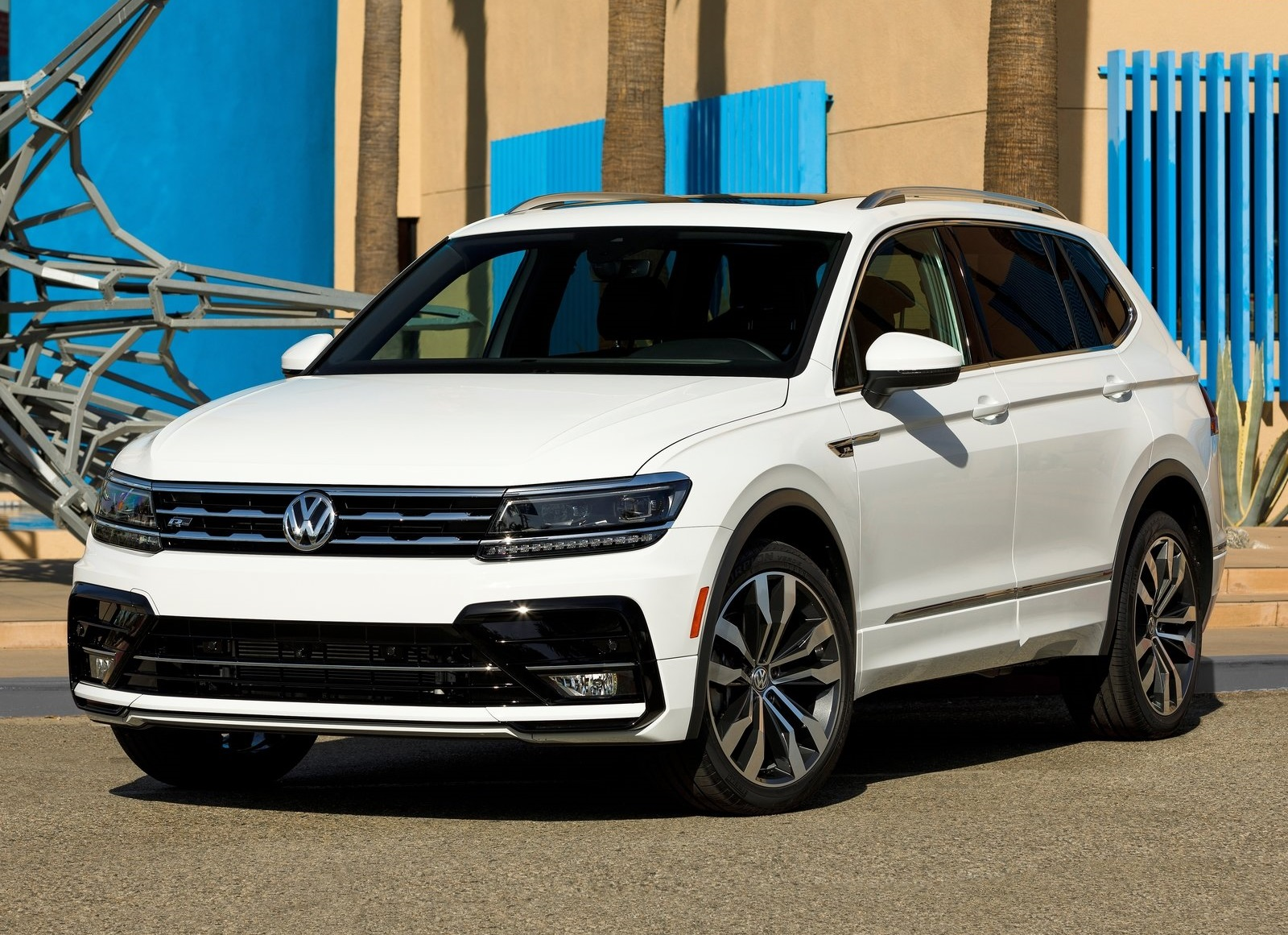 volkswagen tiguan r line 2018 con aspecto m s deportivo autos y moda m xico. Black Bedroom Furniture Sets. Home Design Ideas