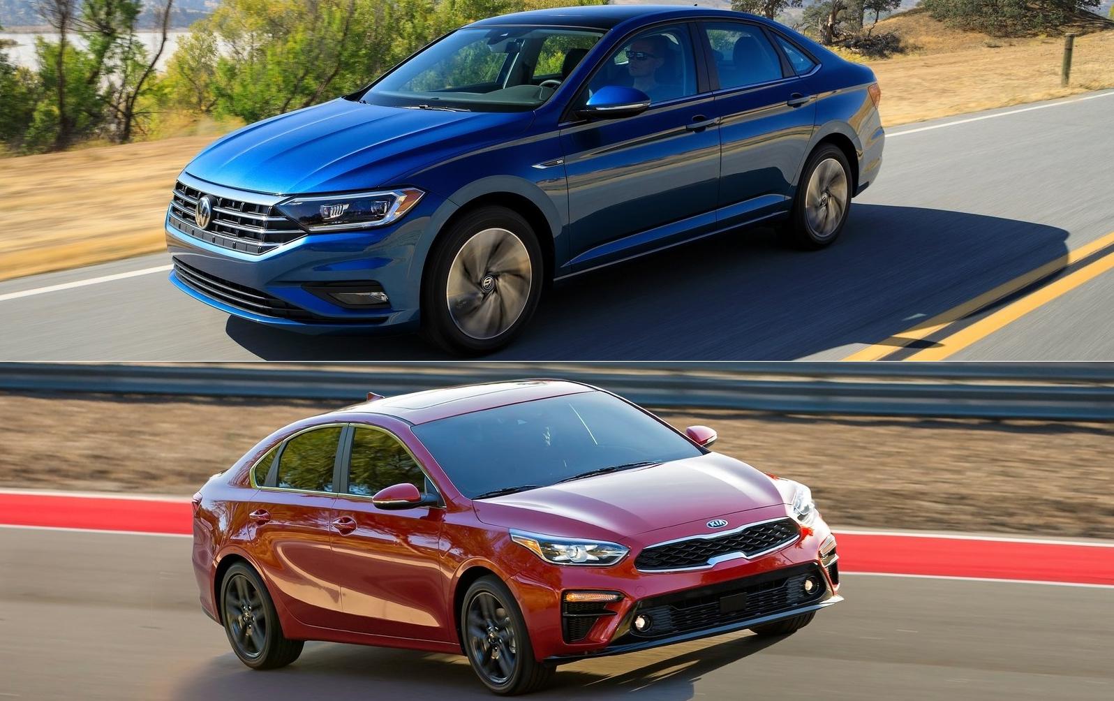 Volkswagen Jetta 2019 Vs Kia Forte 2019 Quien Es Quien De Estos