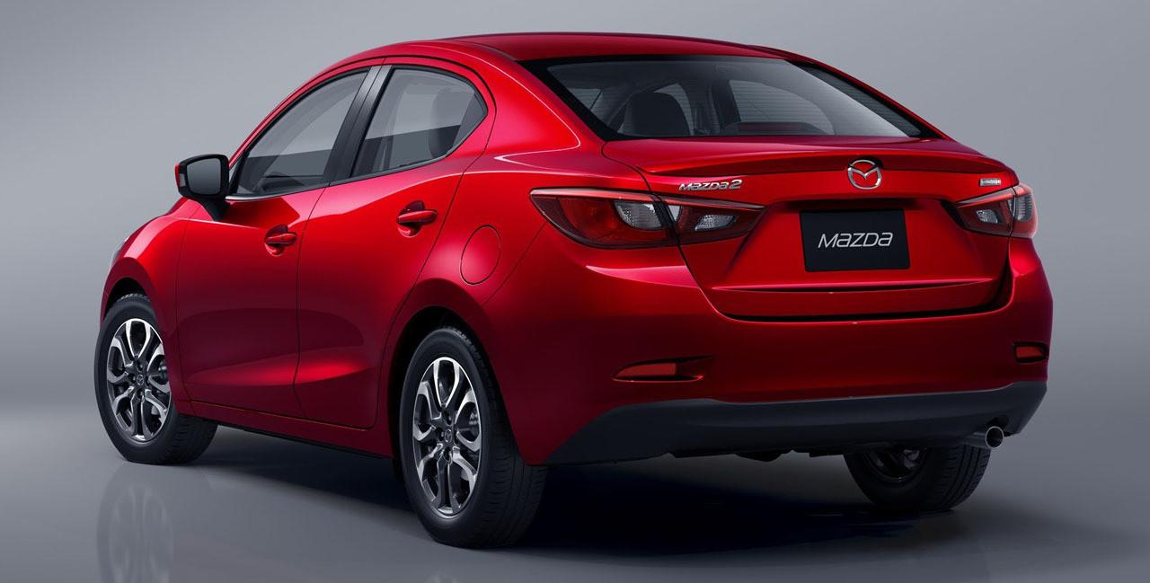 El Mazda 2 Sedán llega a México en julio como modelo 2019 ...