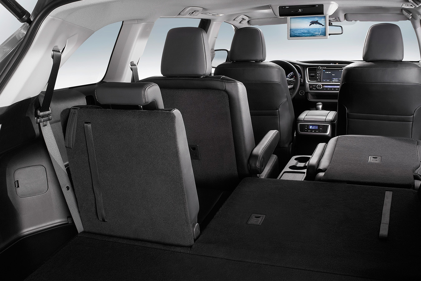 Toyota highlander interior 4 autos y moda m xico for Toyota highlander 2015 interior