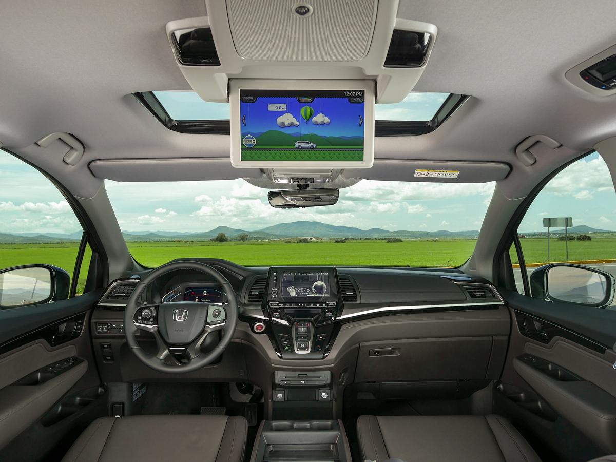 Honda Odyssey 2018 Precios Detalles Y Equipamiento En
